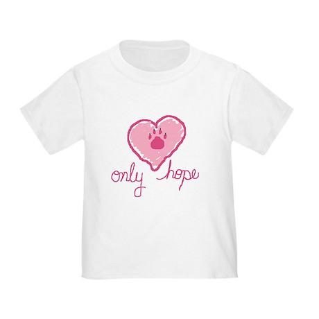 Hand Drawn Heart Toddler T-Shirt