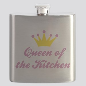 Queen of the Kitchen Flask