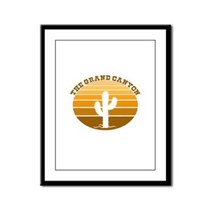 The Grand Canyon Framed Panel Print