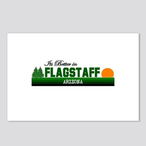 Its Better in Flagstaff, Ariz Postcards (Package o