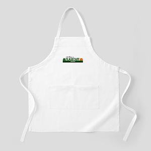 Its Better in Flagstaff, Ariz BBQ Apron