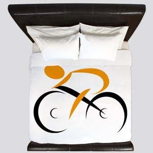 cycling King Duvet