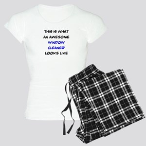 awesome window cleaner Women's Light Pajamas