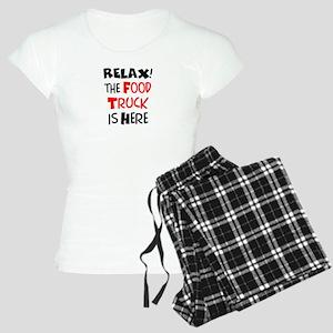 relax! food truck here Women's Light Pajamas