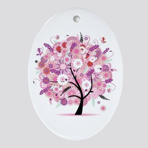Tree of Life 22 Oval Ornament