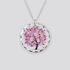 Tree of Life 22 Necklace Circle Charm