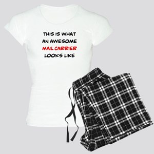 awesome mail carrier Women's Light Pajamas