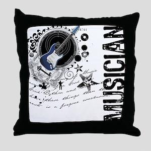 Musician Alchemy Throw Pillow