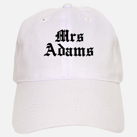Mrs Adams Baseball Baseball Cap