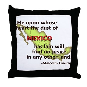 Dust of Mexico Throw Pillow