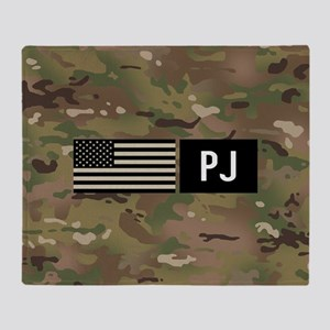 U.S. Air Force: PJ (Camo) Throw Blanket