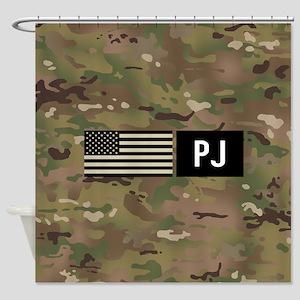 U.S. Air Force: PJ (Camo) Shower Curtain