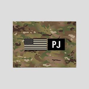 U.S. Air Force: PJ (Camo) 5'x7'Area Rug