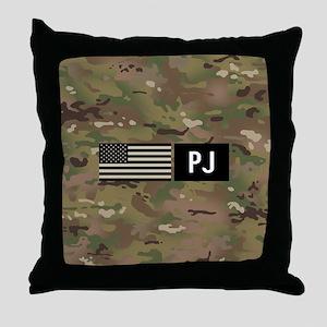 U.S. Air Force: PJ (Camo) Throw Pillow