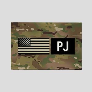 U.S. Air Force: PJ (Camo) Rectangle Magnet