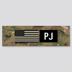 U.S. Air Force: PJ (Camo) Sticker (Bumper)