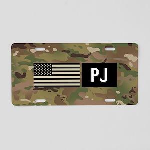 U.S. Air Force: PJ (Camo) Aluminum License Plate