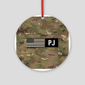 U.S. Air Force: PJ (Camo) Round Ornament