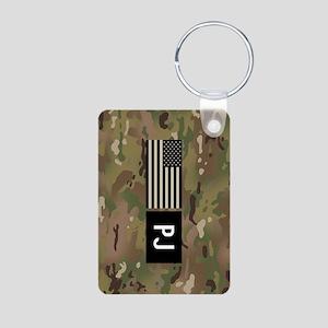 U.S. Air Force: PJ (Camo) Aluminum Photo Keychain