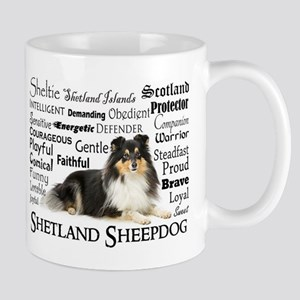 Tri-Color Sheltie Mugs