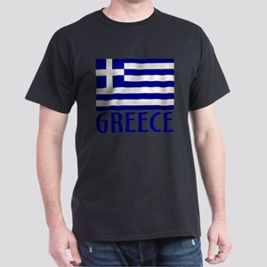 Greek Greece Flag With Words T-Shirt