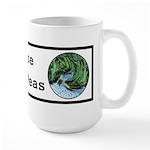 Visualize Whirled Peas Large Mug