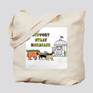 Stray marriage/don't ask Tote Bag
