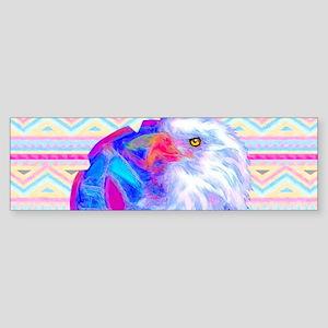Multicolor Eagle Shield Sticker (Bumper)