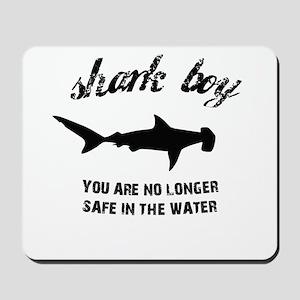 Shark Boy Mousepad