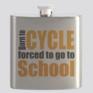 Born to cycle forced to go to school Flask