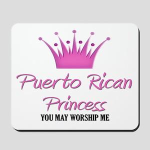 Puerto Rican Princess Mousepad