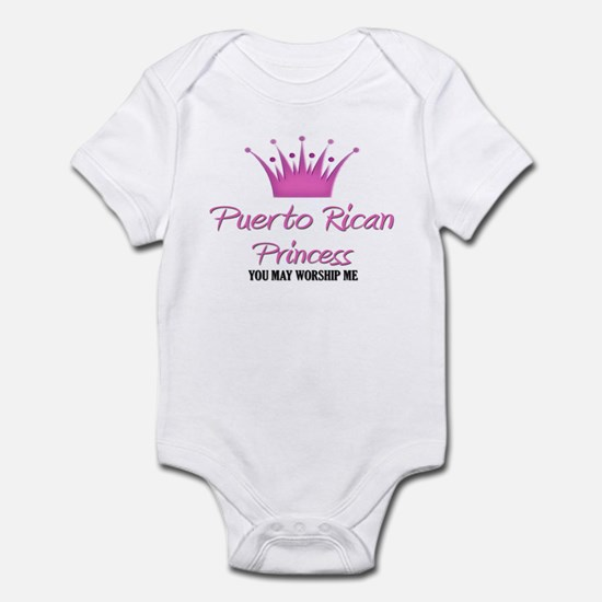 Puerto Rican Princess Infant Bodysuit