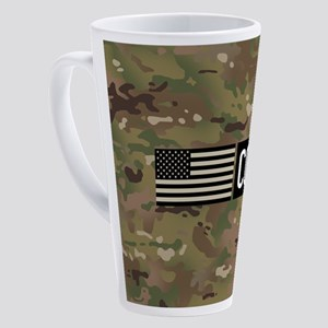 U.S. Air Force: CCT (Camo) 17 oz Latte Mug