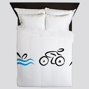 Triathlon Queen Duvet
