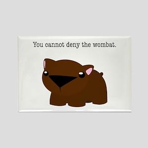 Wombat Rectangle Magnet