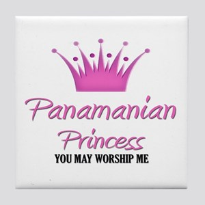 Panamanian Princess Tile Coaster