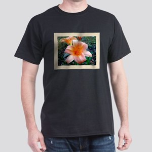 Orange Daylily Dark T-Shirt