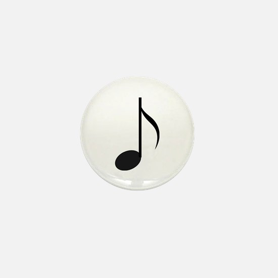 Eighth Note Mini Button