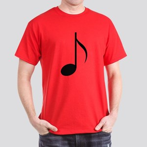 Eighth Note Dark T-Shirt