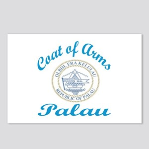 Coat Of Arms Palau Countr Postcards (Package of 8)