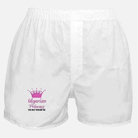 Nigerian Princess Boxer Shorts