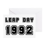 LEAP DAY 1992 Greeting Cards (Pk of 20)