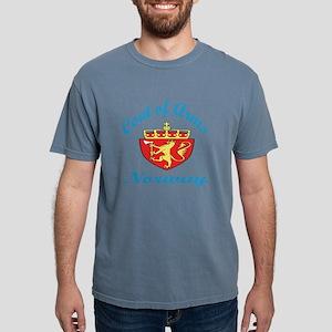 Coat Of Arms Norway Coun Mens Comfort Colors Shirt