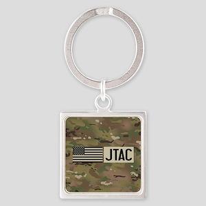 U.S. Air Force: JTAC (Camo) Square Keychain