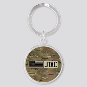 U.S. Air Force: JTAC (Camo) Round Keychain