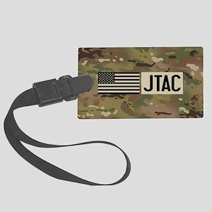 U.S. Air Force: JTAC (Camo) Large Luggage Tag
