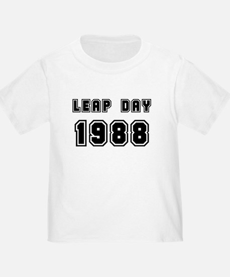 LEAP DAY 1988 T