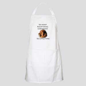 So Many Right Wing Christians BBQ Apron