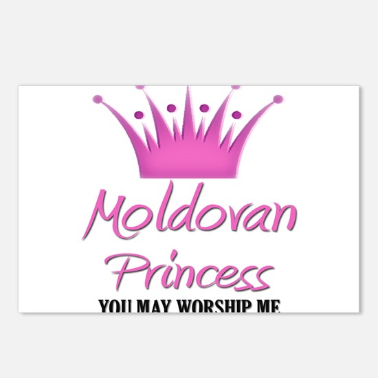 Moldovan Princess Postcards (Package of 8)
