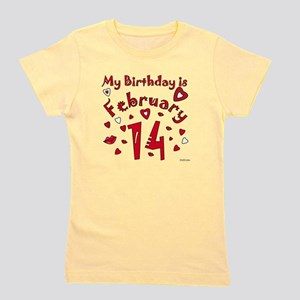 Valentine Feb. 14th Birthday T-Shirt
